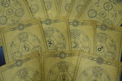 Комплект Свитков 7 Главных Архангелов  и Комплект Свитков 7 Планетных Сил
