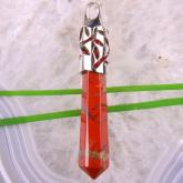 Кристаллический талисман Красная яшма