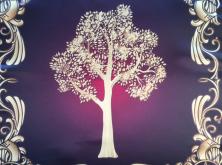 Скатерть Платок Викканское древо Могущество природы 55х55 см