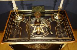 Алтарь Церемониальной Магии Черный