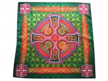 Платок Шаль Накидка Кельтский крест Красота природы