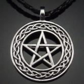 Кельтская плетеная пертаграмма