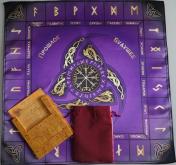 Большой рунический комплект Кедр фиолетовый