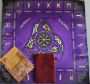 Большой рунический комплект Ольха фиолетовый
